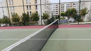 Tenis Kortu düzenleme çalışmaları başladı