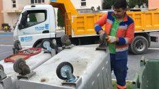 Çöp Konteynerleri bakımı yapıldı