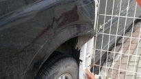 Alt Giriş Kapısında Kaza