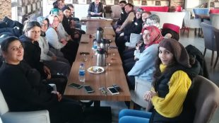 İlyas Uzun site personeli ile toplantı düzenledi