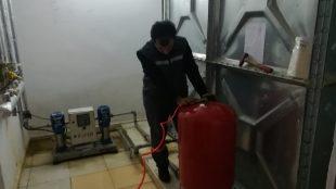 Hidrofor Bakım çalışmaları başlatıldı