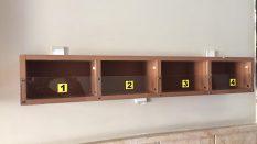 C Blok Posta Kutusu çalışmaları tamamlandı