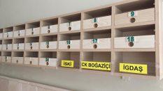 Posta kutularında düzenlemeler tamamlandı